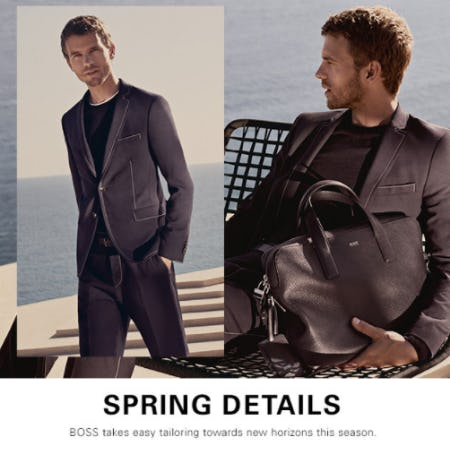 Shop Our New Arrivals from BOSS Hugo Boss
