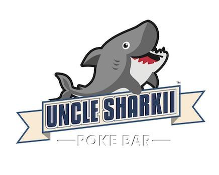 Uncle Sharkii Poke Bar Logo