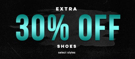 Extra 30% Off Shoes from Tillys