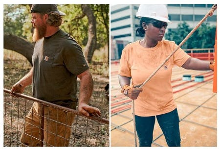 T-Shirts Built to Built the Heat from Carhartt