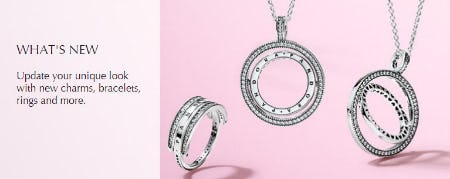 Shop New Arrivals from PANDORA