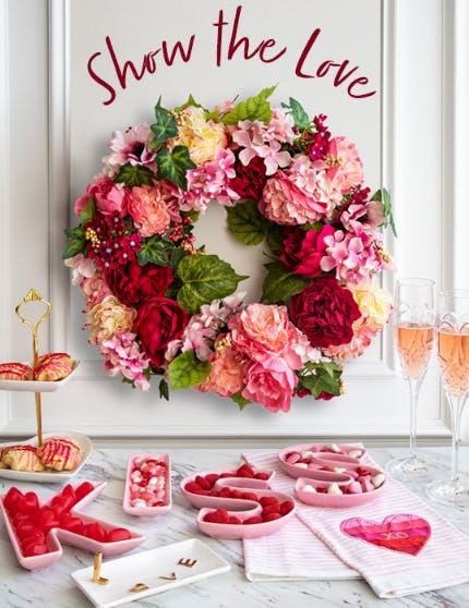 Romantic & Festive Valentine's Day Decor from Von Maur