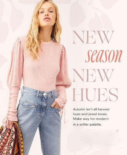 New Season, New Hues from Free People