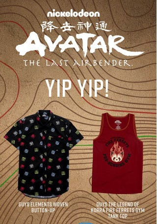 The Last Airbender Collection is Here from Hot Topic