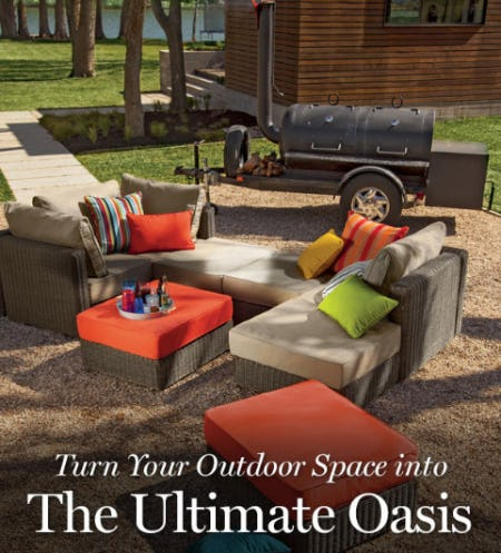 Outdoor Sactionals from Lovesac