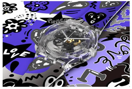 Our Love Designed by Yuka Chocomoo from Swatch