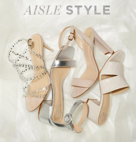 The Aisle Styles from Vince Camuto