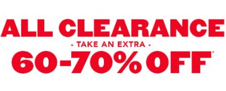 Take an Extra 60-70% Off All Clearance from The Children's Place