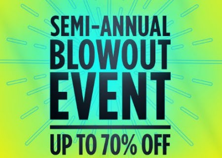 Semi-Annual Blowout Event up to 70% Off from Sears