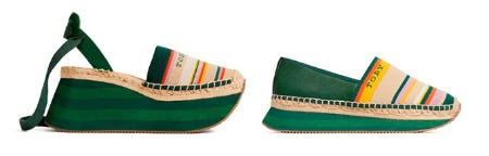 The Espadrille Sneaker from Tory Burch