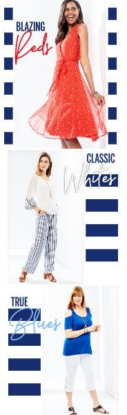 """The New """"It"""" Colors to Wear Now from Dress Barn, Misses And Woman"""