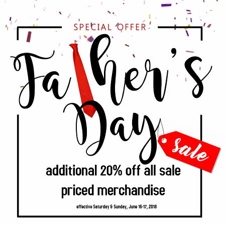 Father's Day Weekend Sale from Tradehome Shoes