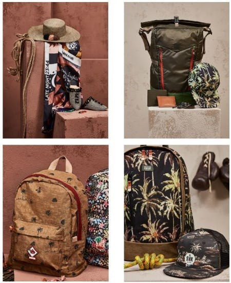Accessories with Nature as Muse from Scotch & Soda