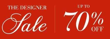 Up to 70% Off The Designer Sale from Saks Fifth Avenue