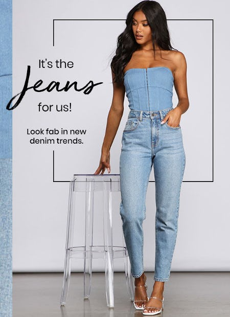 It's the Jeans for Us