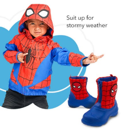 New Rain Gear is Pouring In
