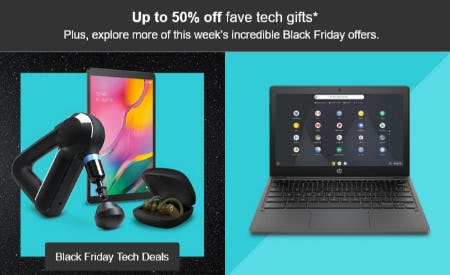 Up to 50% Off Black Friday Tech Deals