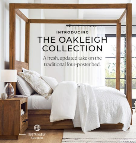 Introducing The Oakleigh Collection from Pottery Barn