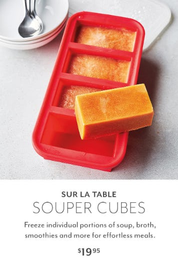 Sur La Table Souper Cubes $19.95 from Sur La Table