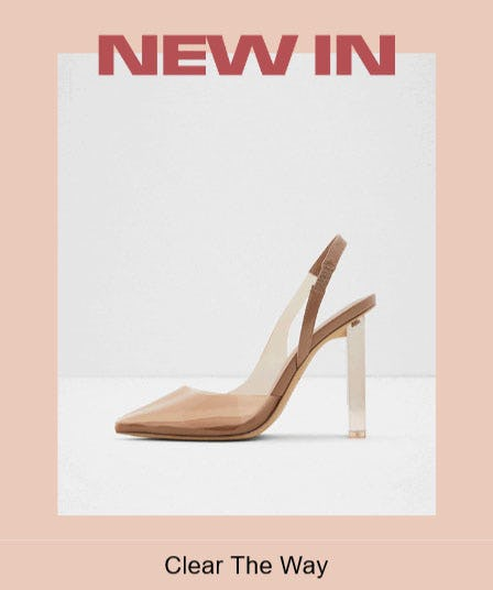 This New Heel is a Clear Winner from ALDO