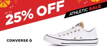 Up to 25% Off Athletic Sale from Rack Room Shoes
