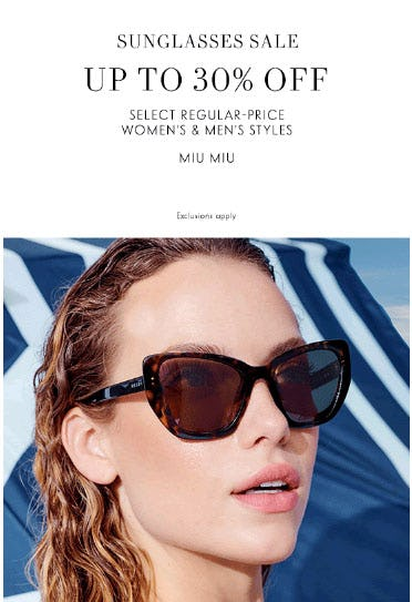 Up to 30% Off Sunglasses Sale from Neiman Marcus