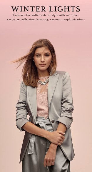 PINK Has Arrived! Refresh Your Winter Style from White House Black Market
