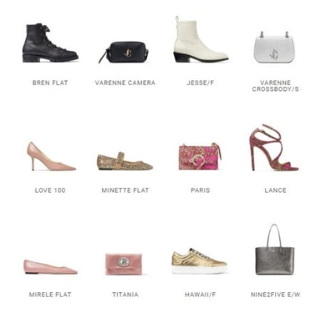 The Key Pieces to Own Now from Jimmy Choo