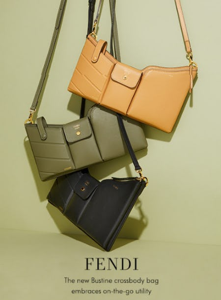 Fendi: The new Bustine bag from Neiman Marcus