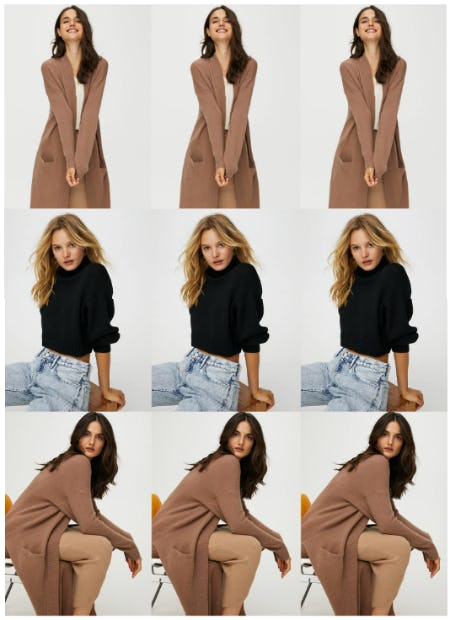 Cozy Sweaters for the Cozy Seekers from Aritzia