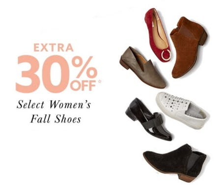 Extra 30% Off Select Women's Fall Shoes from Lord & Taylor