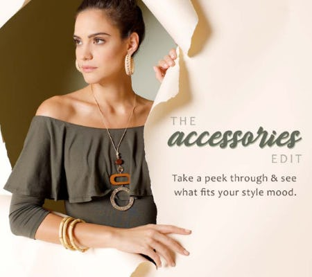 The Accessories Edit from Versona Accessories