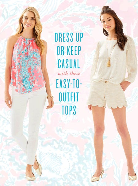 Easy-To-Outfit Tops from Lilly Pulitzer