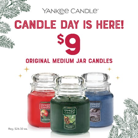 CANDLE DAY is here! from Yankee Candle