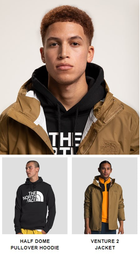 New Arrivals for Spring from The North Face