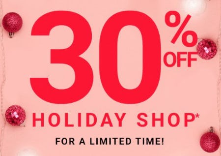 30% Off Holiday Shop from Forever 21