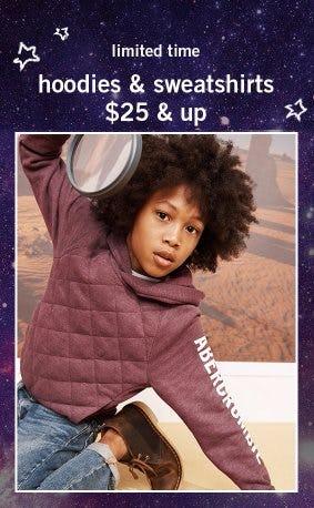 Hoodies & Sweatshirts $25 & Up