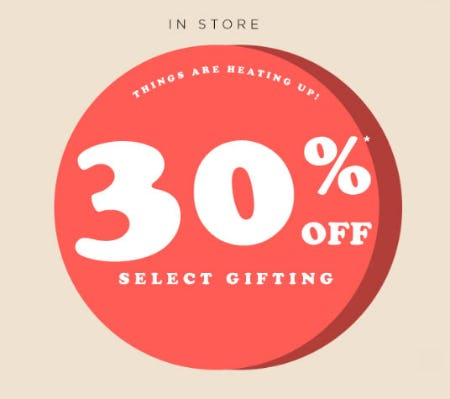 30% Off Select Gifting from PAPYRUS