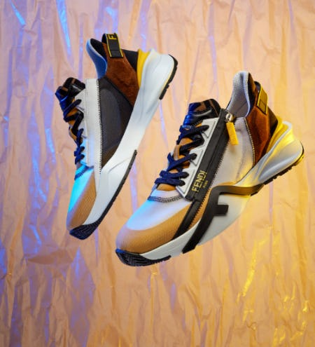 The New Fendi Flow Sneakers from Fendi