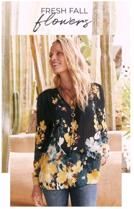 Blooms to Brighten Every Fall Day from Chico's