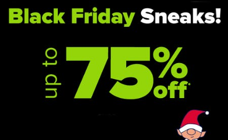 Up to 75% Off Black Friday Sneaks from Belk
