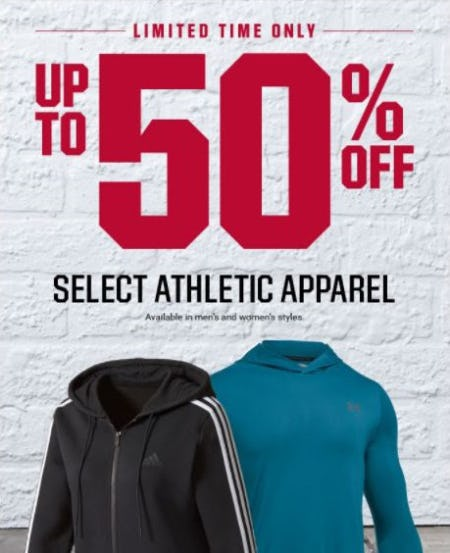 Up to 50% Off Select Athletic Apparel from Dick's Sporting Goods