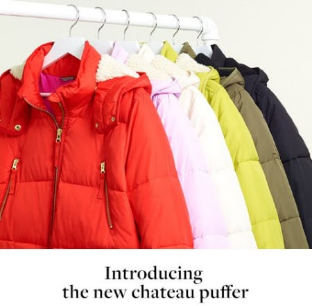 Introducing the New Chateau Puffer from J.Crew