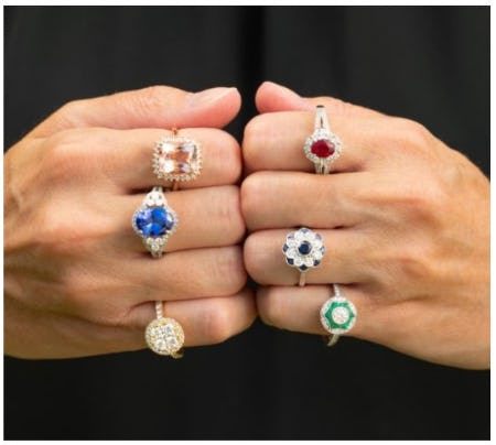 Be Bold in a Statement Ring from The Sabel Collection from Fink's Jewelers