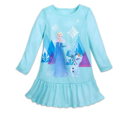 Elsa Nightshirt for Girls - Frozen