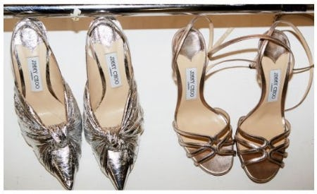 Just Landed: The Awards Collection from Jimmy Choo
