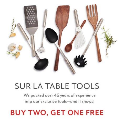 B2G1 Free Sur La Table Tools