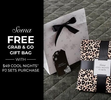FREE GRAB & GO GIFT BAG from Soma Intimates