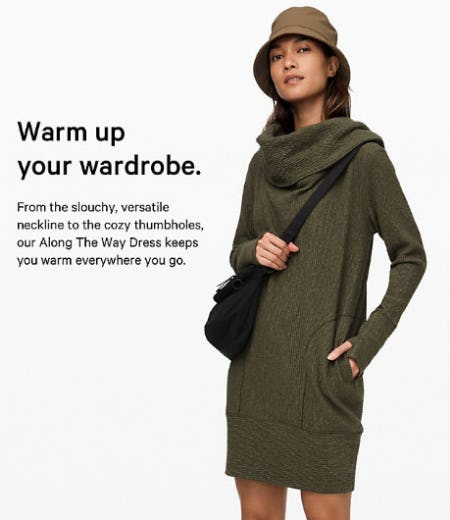 Warm Up Your Wardrobe from lululemon
