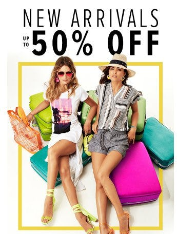 New Arrivals up to 50% Off from New York & Company